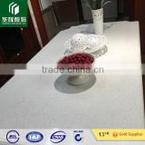 white artificial quartz stone engineered countertops vanity top & kitchen top