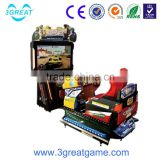 Arcade hot play kids racing game machine for game center