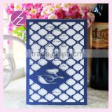 Luxury Laser cut Wedding Invitations Elegant Embossed carton design Envelope Paper Printing Wedding Invitations Cards luxury