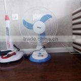 Hot sale best quality desk fan outside sets battery charger table fans for home and office use
