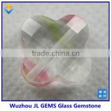 2016 new fashion four clovers beads glass gemstone/stone for making glass necklace and bracelet