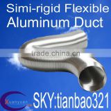 SEMI RIGID FLEX DUCTING 12 INCH(AVAILABLE INVENTORY, 7 YEARS EXPERIENCE IN PRODUCTION AND PROCESSING)