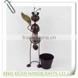 Metal Animal Ant Plant Pot Holders