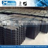 china steel plate counterweight for elevator