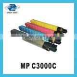 New compatible toner cartridge MP C3000C color copiers toner for Aficio MPC 2000/2500/3000/2525/3030                                                                         Quality Choice