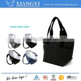 Fashionable aluminum foil lining daily tote cooler bags insulated lunch bag                                                                                                         Supplier's Choice