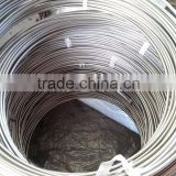 china factory wholesale seamless stainless steel coiled pipe