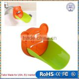 Kid Baby Faucet Extender Washing Hands Bathroom Sink Lovely Crab Tool Helper