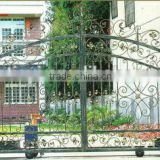 wrought iron driveway gate garden decoration gate