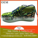 wholesale cheap fashion custom flyknit casual safety shoes