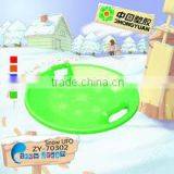 New outdoor Winter kids Plastic Snow Sled for wholesale
