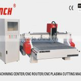 cnc wood router / 4.5kw spindle /stepper motors/vacuum table /Ncstudio or DSP controller