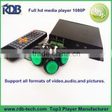 RDB Full hd media player 1080P supports all formats of video,audio,and pictures DS005-33