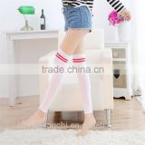 white girls child tube fashion long socks 90% cotton and polyester