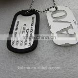 Cosplay Anime GANGSTA A/0 Nicolas Brown Mercenary Dog Tag necklace pendant