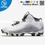 Quality assurance Genuine Leather Rubber Star impact Men Indoor football boots shoes                                                                         Quality Choice