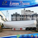 Hot sale bulk cement powder truck trailer / 60cbm 3 axles bulk cement trailers / cement bulk carrier trailer