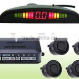 PS1004 LED Car Parking Sensors Assistance System Distance Display Rear Roof Mounting 4 Parking Sensor Radar