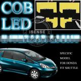 DC 12V T10 Festoon Ba9s Sockets High Power New White 5000K LED Interior for Honda Fit Jazz