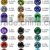 Top Quality AAA Grade Gemstone Paved Gemstone Color Chart