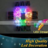 Brand New Remote Control 3M 30Led Mini Silver Color Copper Wire String Lights For Christmas Wedding Party
