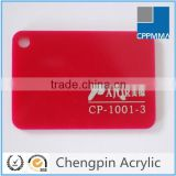PMMA sheet colored clear pmma plate