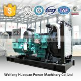 250kva Volvo silent quiet 3phase 50hz diesel generator made in china