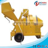 JZR500 used mobile concrete mixer with diesel engine