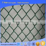 China supply used chain link fence for sale,guardrail chain link fence