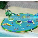 cheap large kids playground amusement park, inflatable water park as amusement park, children amusement park