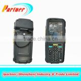 pos terminal Handheld PDA terminal for Windows CE 6.5 android OS Internal thermal printer