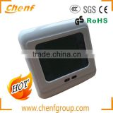 Newest Touch Screen Weekly Programmable Floor Heating Digital Room Thermostat with Large LCD Backlight