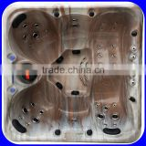 China Luxury Golden Acrylic Outdoor Hot Tub Spa Jacuzzi Function                                                                         Quality Choice