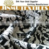 JINMU textiles Black/White Butterfly Stretch Polyester Cotton Jacquard Fabric