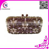 Newest Full Acrylic good quality Design CT0054 Cute Pure manual clutch bag evening bag for wedding/party