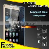 9H 0.33mm 2.5D Huawei Ascend P8 mini Cheap price good quanlity mobile phone tempered glass screen protector
