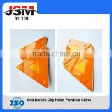 hot-sale auto emergency tool saftly triangle warning sign ,reflecting car triangle warning sign