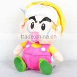 Super Mario Brothers Bros Plush Baby Soft Doll Toy - Wario BB Baby 23cm/9""