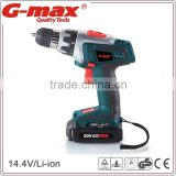 G-max Li-ion Battery Powered Two-Speed 18V Cordless Drill Charger GT31011