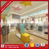 Lovely kid baby clothes store interior design