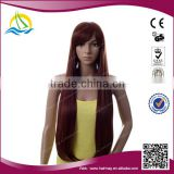 2014 Hot selling japanese heat resistant fiber wig