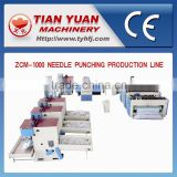 ZCM-1000 Carpet Making Machine,Blanket Manufacturing Machine,Nonwoven Machine