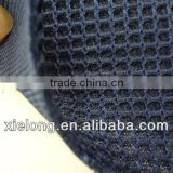 Blue space fabric 3D air spider mesh fabric