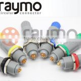 push pull circular 7 pin plastic plug medical connectors Substitute PAG