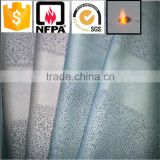 2016 hot sale hih quality 100% fire retardant polyester yarn dyed