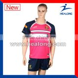 Mens Full Plus Rugby Training Equipment Blank Wholesale Rugby Suit Set