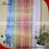 Quality Guaranteed bright color voile curtain fabric,popular printed sheer voile curtain