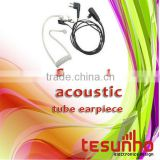 TESUNHO TH-880 DUAL BAND WALKIE TALKIE GOOD QUALITY COVER ACOUSTIC TUBE EARPIECES FOR TOUR GUIDES