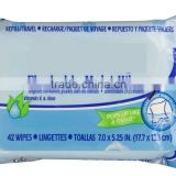 OEM Custom Antibacterial Flushable Toilet Wipes