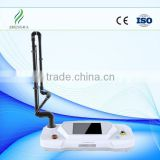 top sell!!!Surgical scar removal, acne scar removal (RF) Fractional CO2 for deep skin rejuvenation fractional CO2 laser